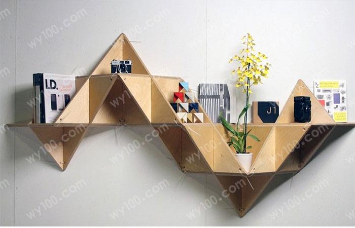 墙上书架设计-维意家具网上商城