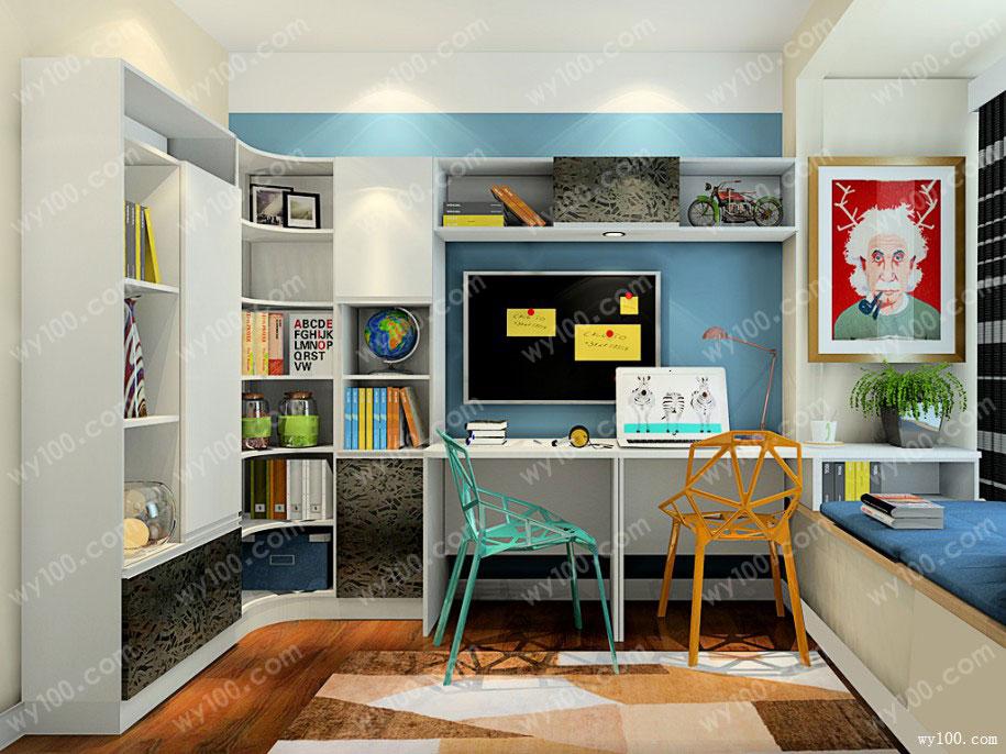 好看的书柜款式-维意定制家具商城