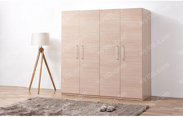 四门衣柜的宽度如何确定合适