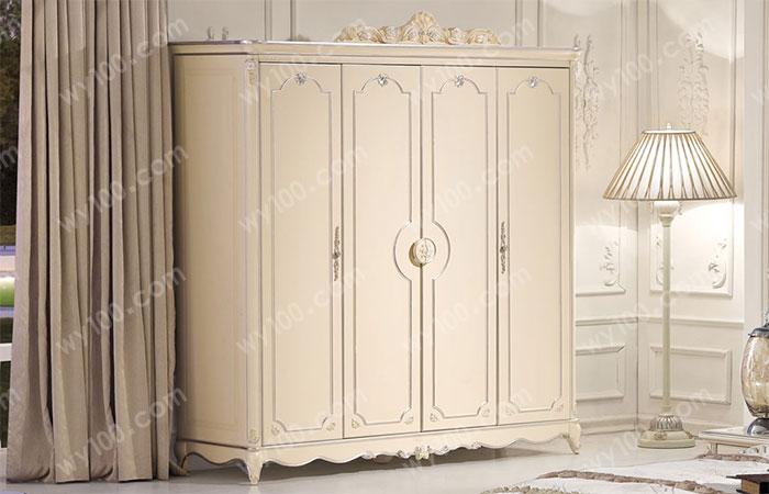 白色四门衣柜-维意家具网上商城