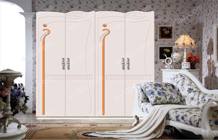 儿童四门衣柜-维意定制