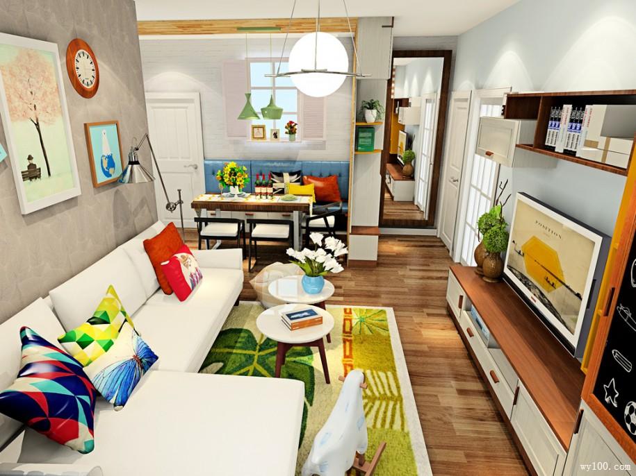 温馨家居,你需要选择适合自家风格电视柜设计