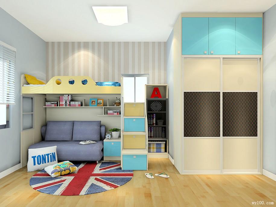 儿童衣柜-维意家具网上商城