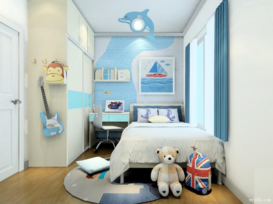 现代家居中儿童衣柜布局应该如何设计