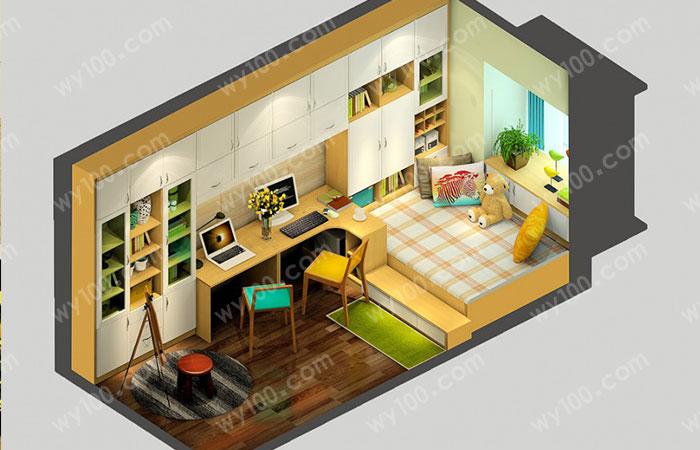 榻榻米卧室--维意定制网上商城
