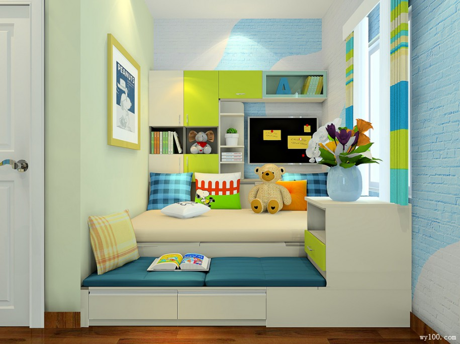 儿童书柜尺寸-维意家具商城