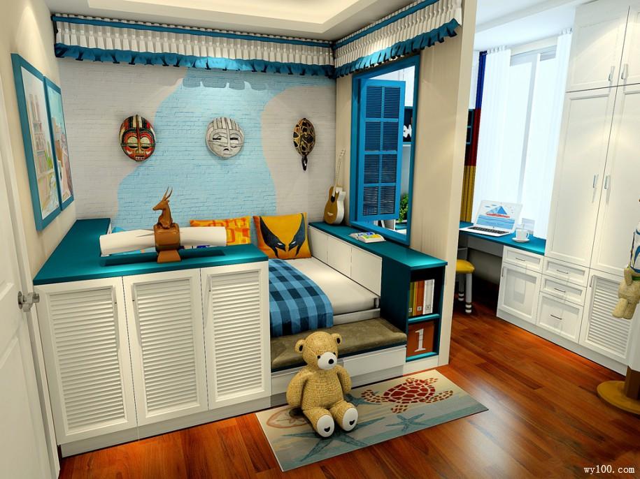 家居生活中组合儿童衣柜的特点和优势