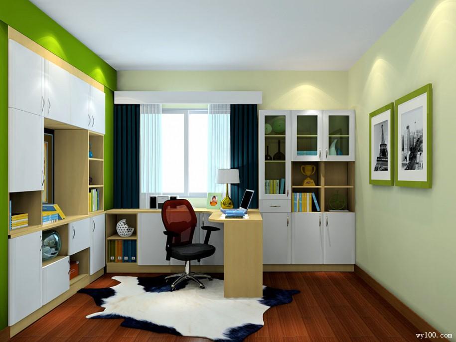 选择合适自己家风格的简易书架书柜