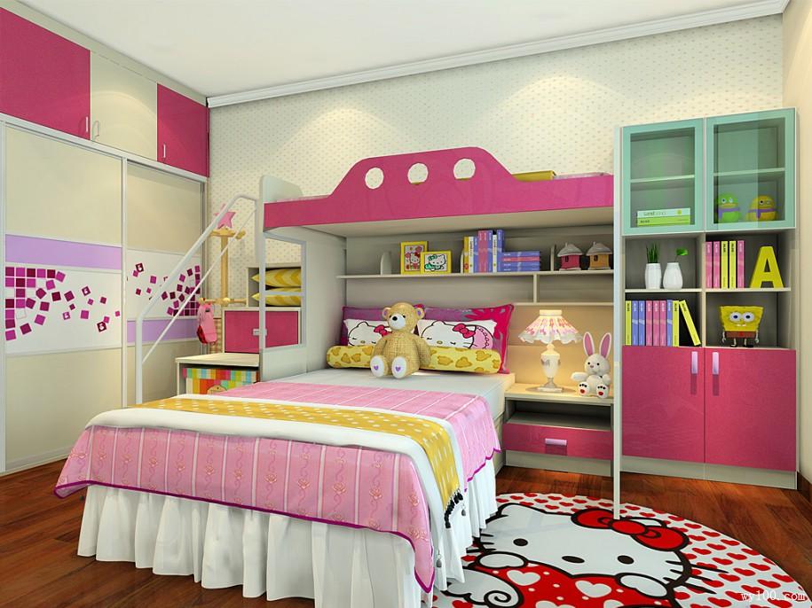 复式儿童房装修效果图