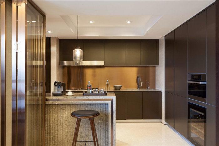 开放式小厨房装修--维意定制网上商城
