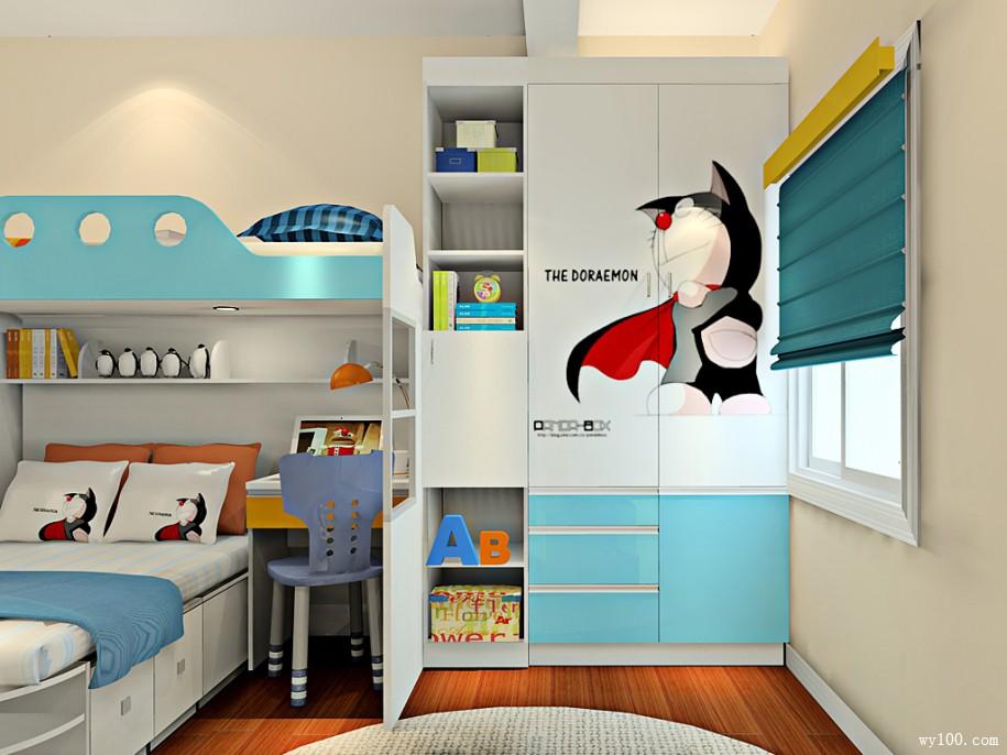 为孩子布置儿童高低床好吗