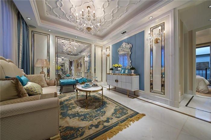 美式客厅家具设计技巧--维意定制家具网上商城