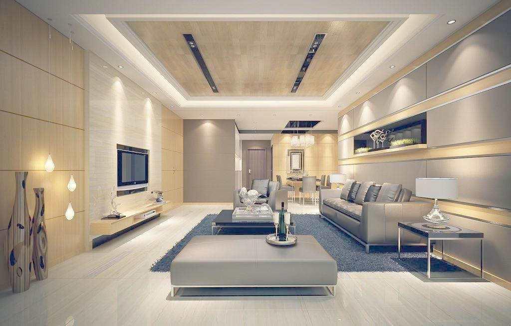 长方形客厅家具布局--维意定制家具网上商城