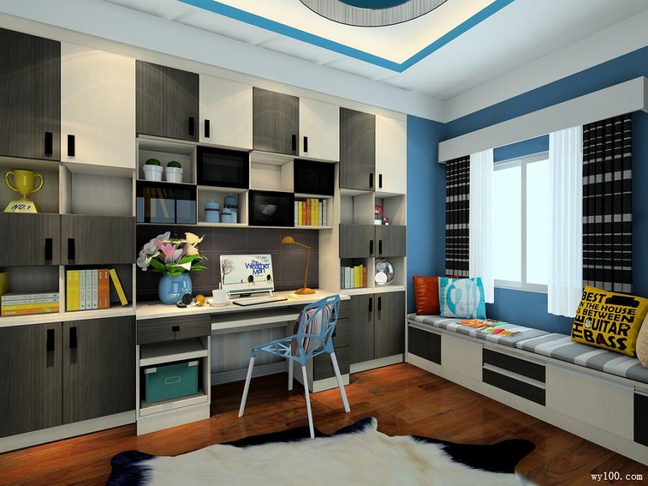 怎样设计书房才合理呢?