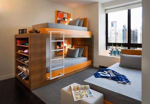 男孩儿童房墙纸--维意定制家具网上商城