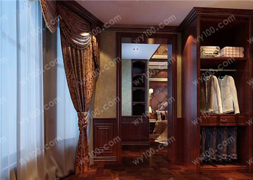 小户型衣帽间设计--维意定制家具网上商城