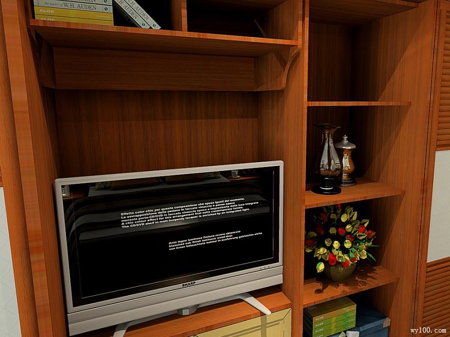 主卧电视柜尺寸--维意定制家具网上商城