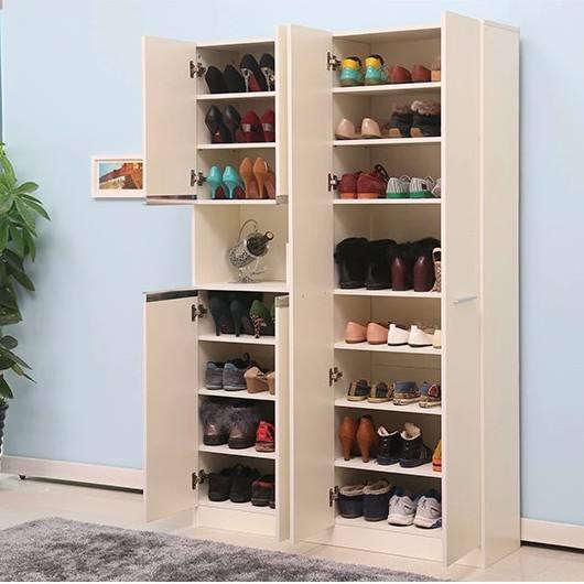 封闭阳台可以放鞋柜吗--维意定制家具网上商城