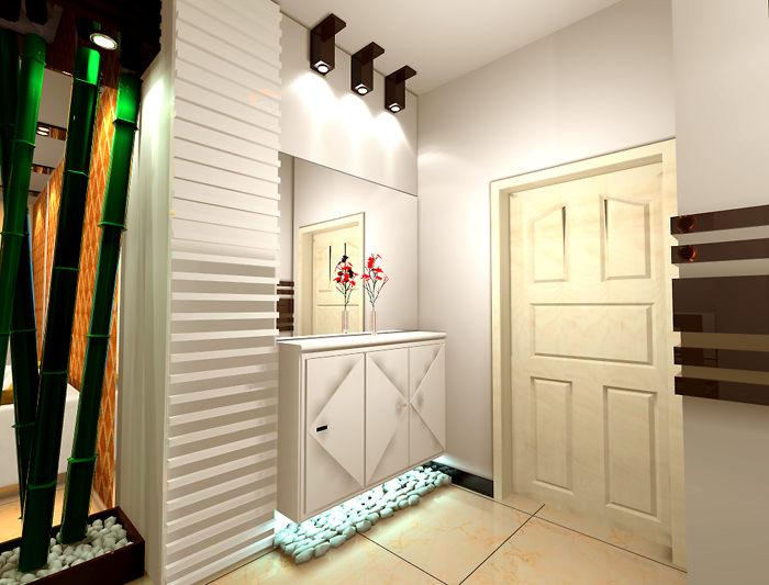 进门玄关鞋柜挂衣柜--维意定制家具网上商城
