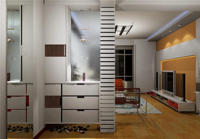 好看的进门玄关鞋柜--维意定制家具网上商城