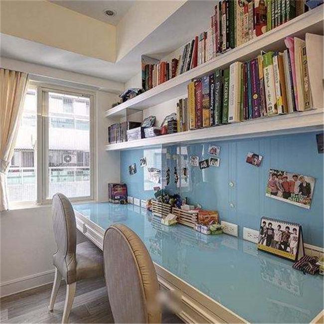 简约书房设计注意事项--维意定制家具网上商城