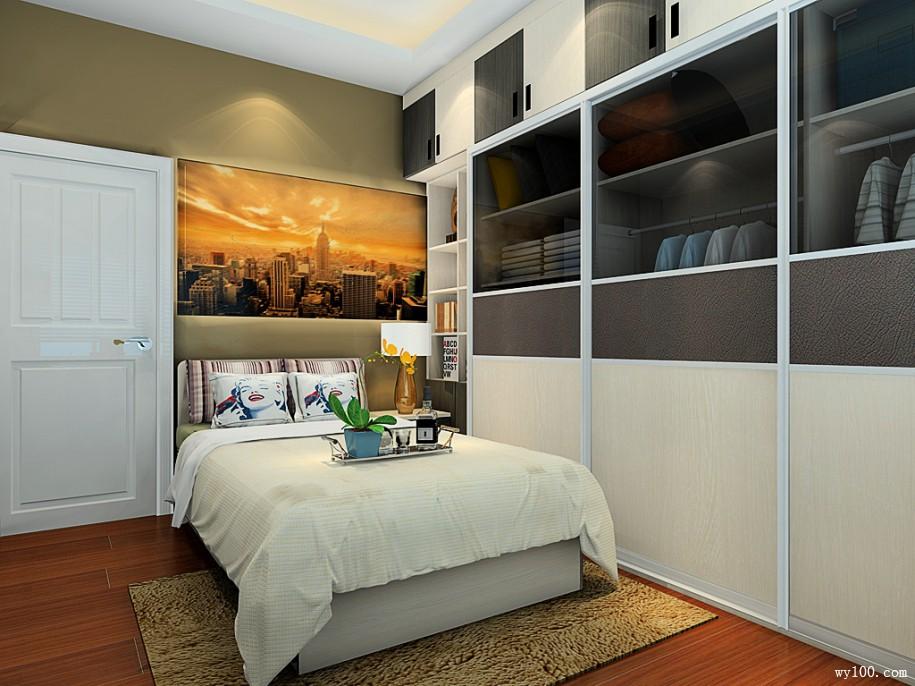 你觉得卧室门头上要不要吊柜?