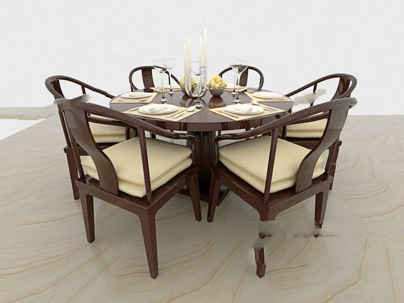 中式餐桌怎么布置--维意定制家具网上商城