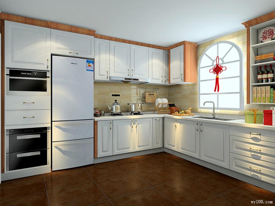 关于小户型开放式厨房餐桌详解