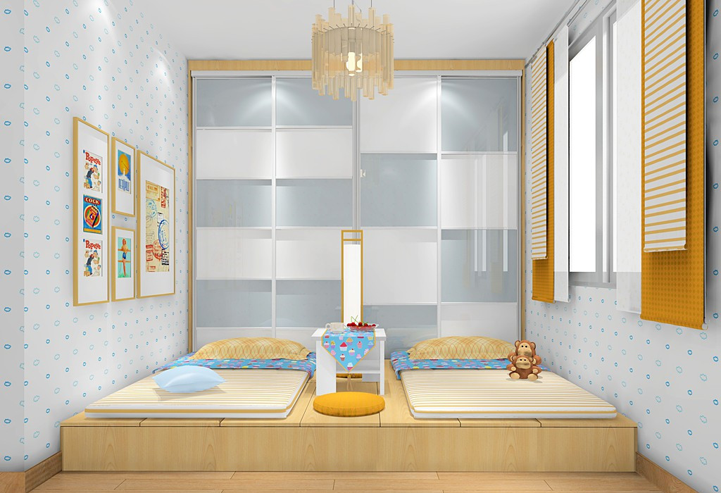 两个孩子的儿童房怎样设计