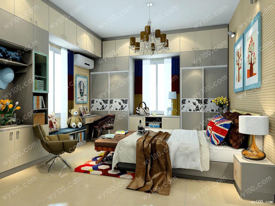 卧室装修墙面颜色搭配技巧
