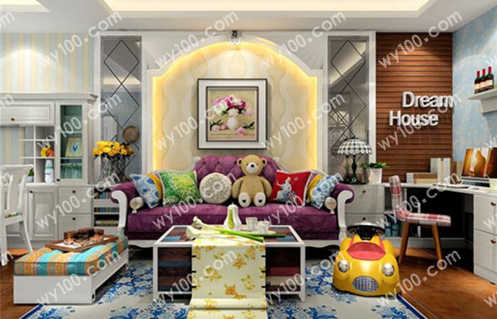 美式客厅装修中的注意事项!