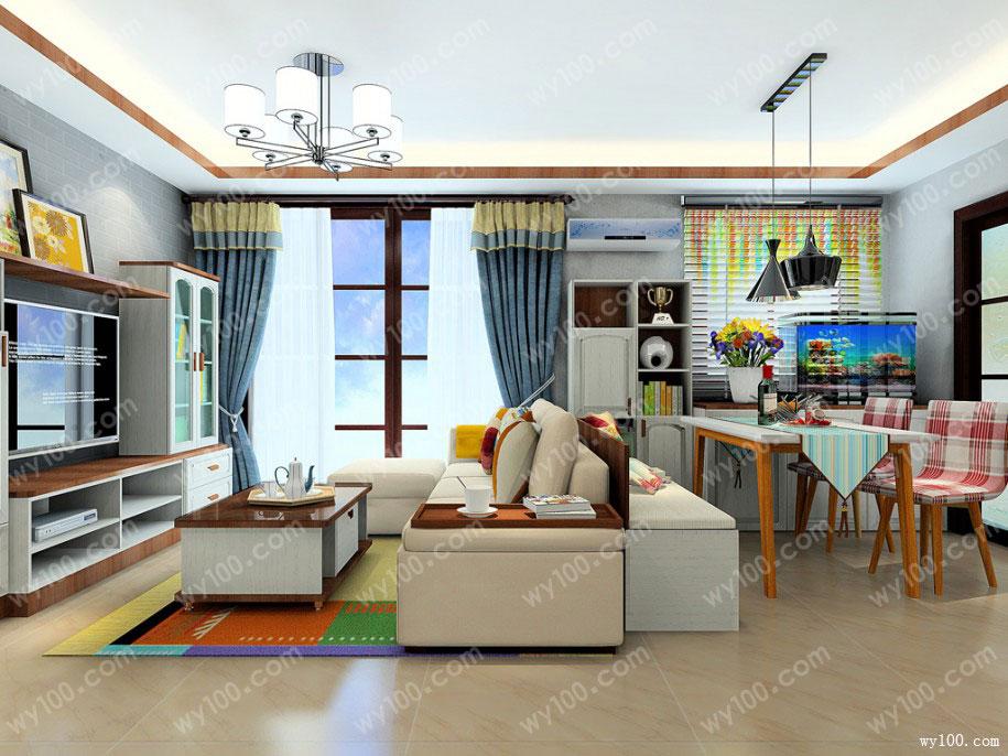 教你打造舒适高配版小居室客厅装修