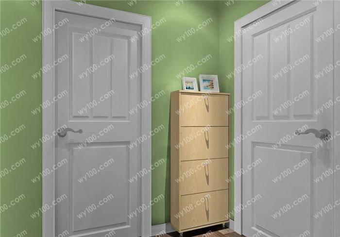 正对门玄关鞋柜装修效果图风格解析