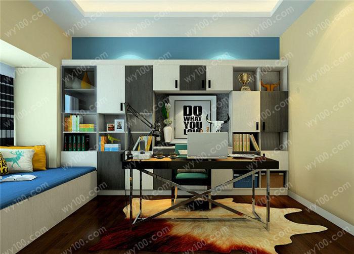 办公桌背景墙设计技巧有哪些?
