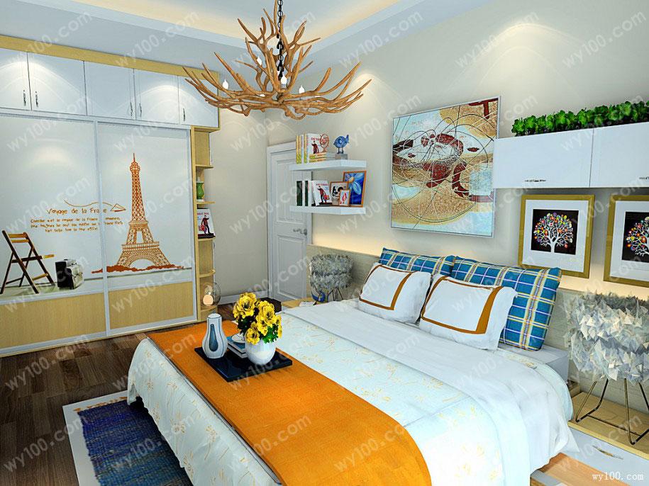 装修小课堂,卧室衣柜的颜色怎么选择