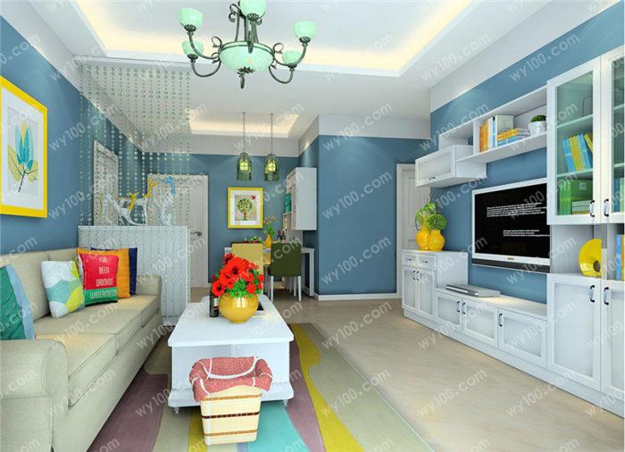 家庭装修中客厅里挂什么画好?