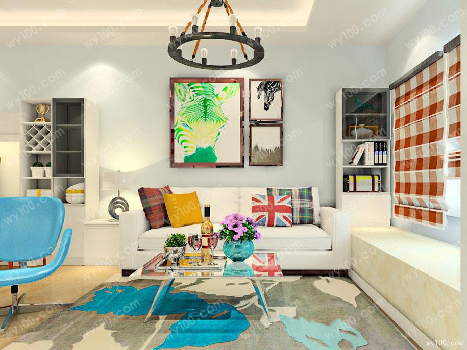 现代简约风的客厅装修怎么设计