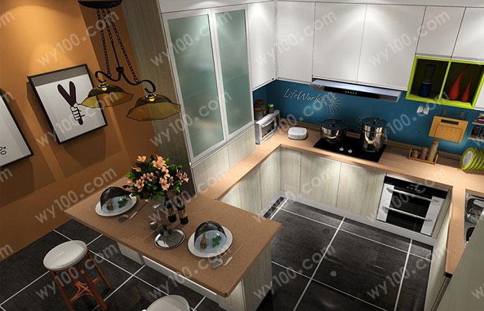 小户型厨房装修收纳技巧分享