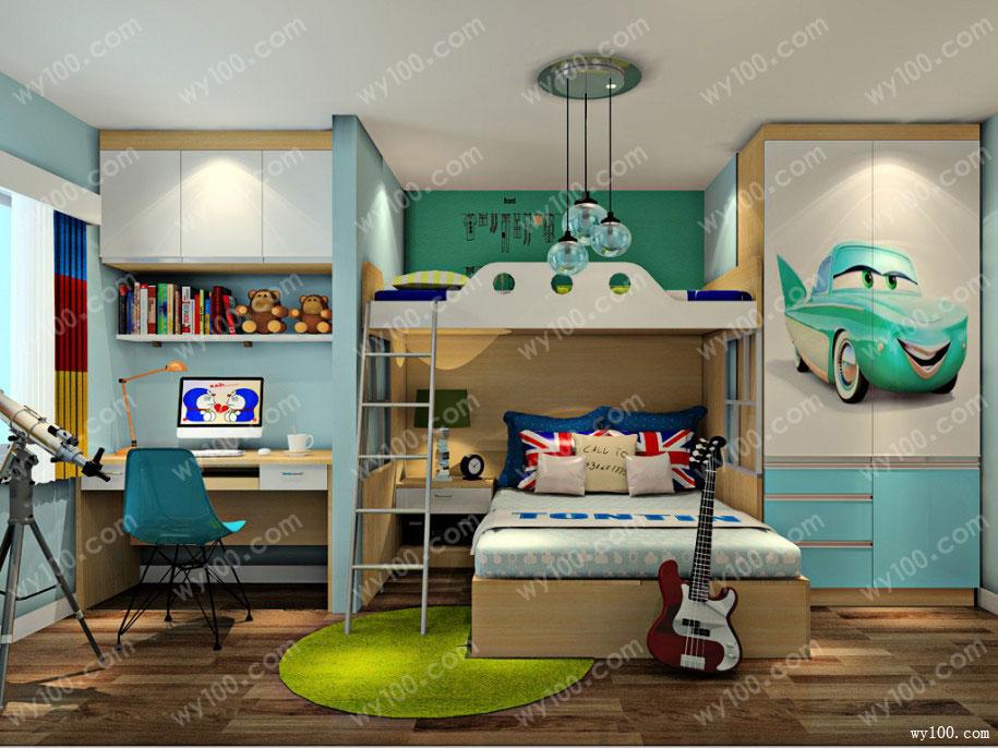 小户型儿童房设计案例,如何设计儿童房