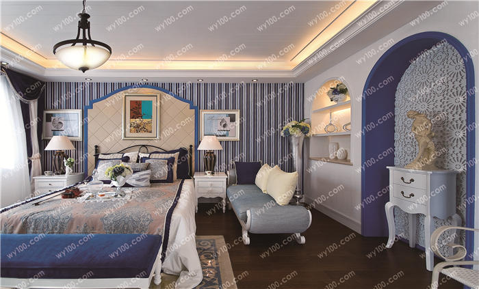 这些卧室壁纸颜色的选择技巧你了解多少?