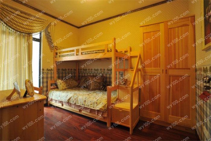 家装经验 双层床的选购技巧及注意事项