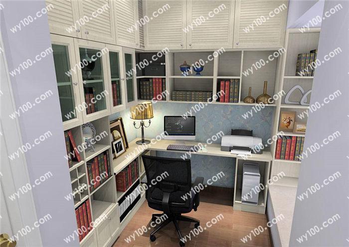 开放式小书房该怎么布置 - 维意定制家具网上商城