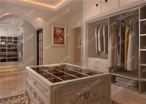 开放式衣柜设计要点 - 维意定制家具网上商城