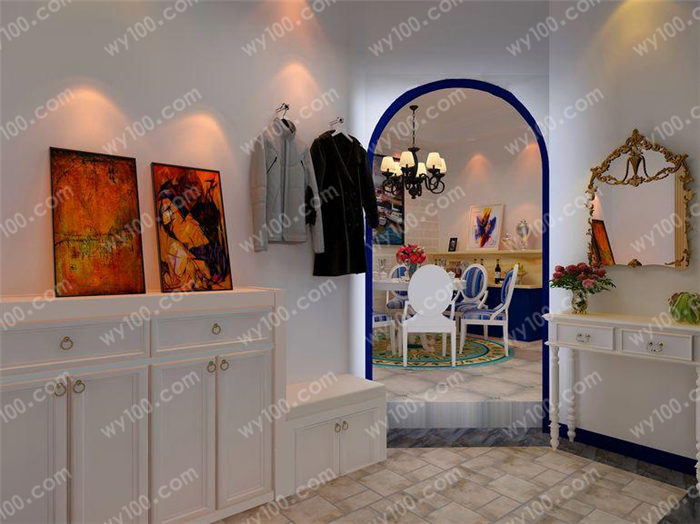 玄关柜的选购技巧 - 维意定制家具网上商城