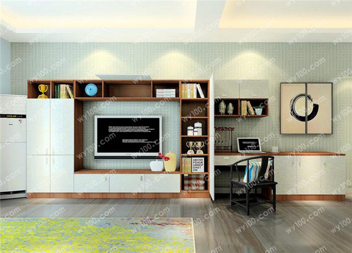 客厅电视墙装修技巧 - 维意定制家具网上商城