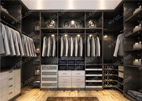 衣帽间装修设计方案 - 维意定制家具网上商城
