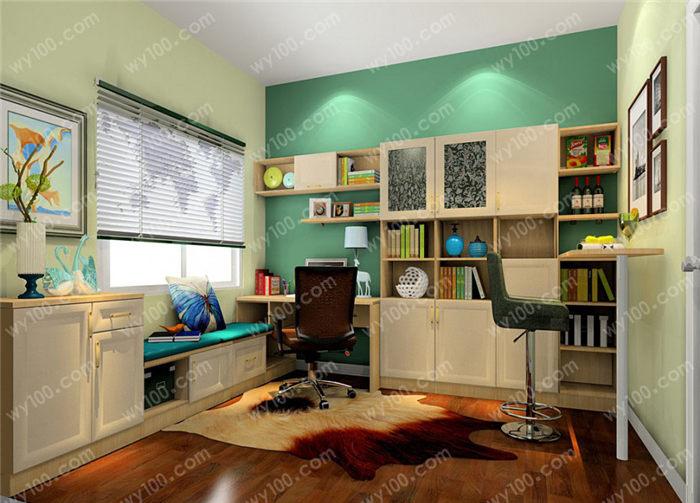 书房适合什么颜色壁纸 - 维意定制家具网上商城