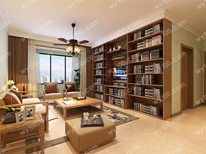 新中式客厅地面拼花如何设计 - 维意定制家具网上商城