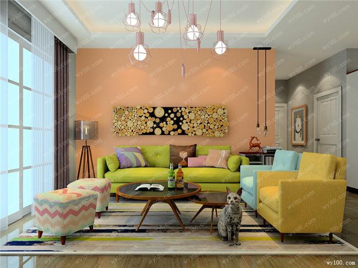 几款壁纸背景墙 - 维意定制家具网上商城