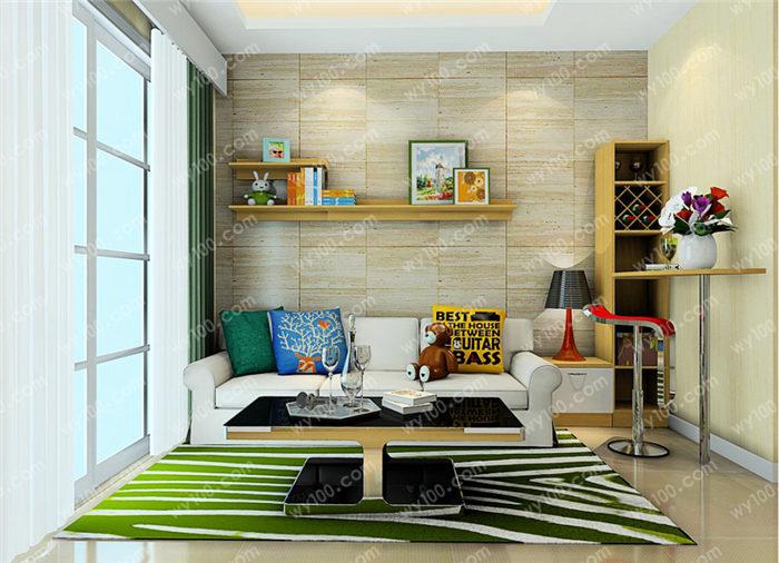 正方形客厅怎么布局 - 维意定制家具网上商城
